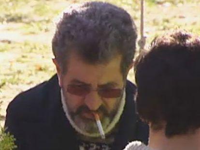 Miguel Rosendo, tras su detención en Collado-Villalba (Madrid).