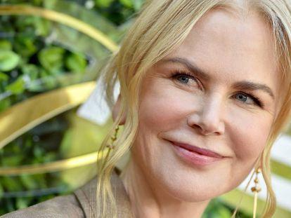 Nicole Kidman, el 4 de enero, en la gala anual Gold Meets Golden en Los Angeles.