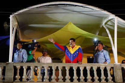 Maduro anunció el jueves que abortó un supuesto golpe de Estado