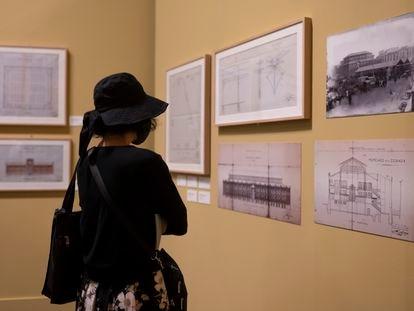 La Sala Sur de Conde Duque (Madrid) acoge una muestra sobre el arquitecto municipal Luis Bellido.
