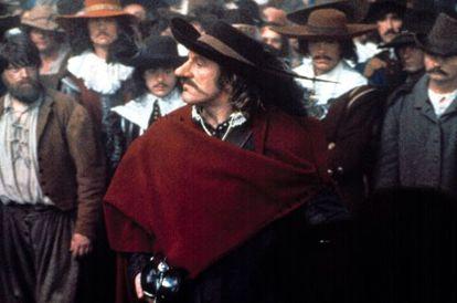 Gérard Depardieu encarnó a Cyrano en 1990.