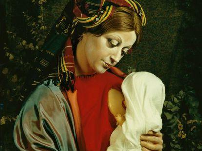 Una de las fotografías sin título de Cindy Sherman fechada en 1990.