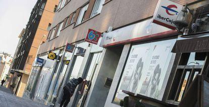 Varias sucursales de bancos en Sanchinarro (Madrid)