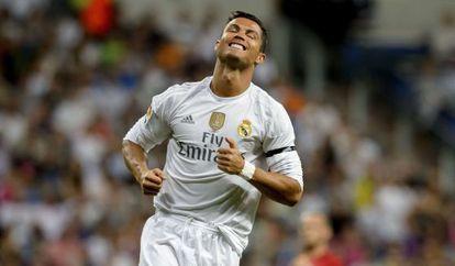 Cristiano Ronaldo, en el pasado encuentro ante el Galatasaray.