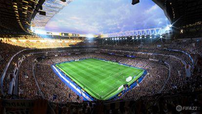 Una imagen del videojuego FIFA 22.
