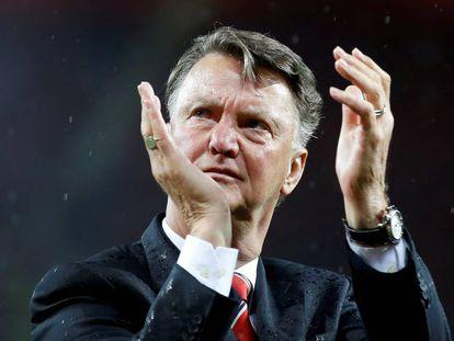 Van Gaal, en su etapa de entrenador del Manchester United