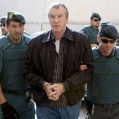 Guennadi Petrov, a su entrada en los juzgados de Palma de Mallorca.