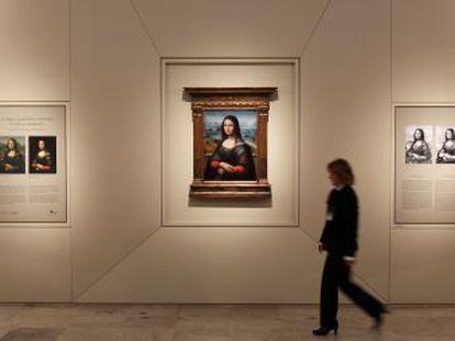 La Gioconda ya está instalada en el Museo del Prado.
