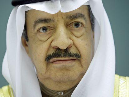 El primer ministro de Bahréin, el príncipe Khalifa Bin Salman al Khalifa, en una imagen tomada en Ginebra en 2007.