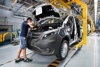 Mercedes ha planteado un ERTE en su planta de Vitoria.
