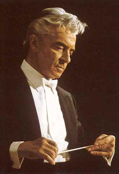 Las grabaciones de Herbert von Karajan están disponibles en iTunes.