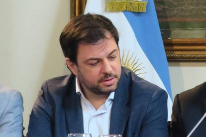El subsecretario general de Presidencia de Argentina, Valentín Díaz Gilligan, en Buenos Aires, en noviembre de 2016.