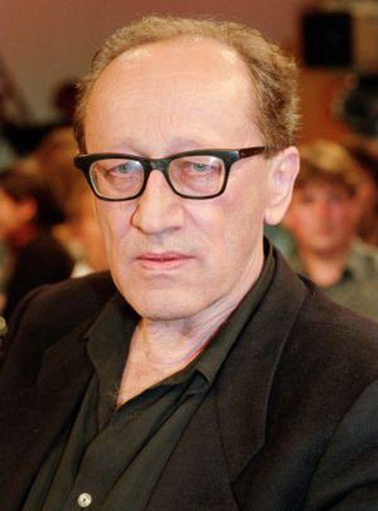 El escritor y dramaturgo alemán Heiner Müller en 1995.