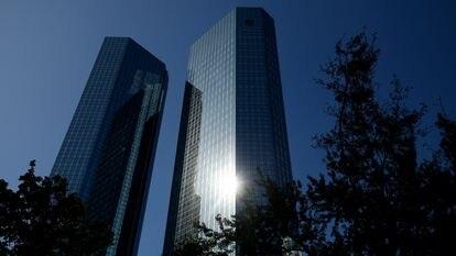 Sede en Fráncfort de Deutsche Bank, el pasado 21 de septiembre.