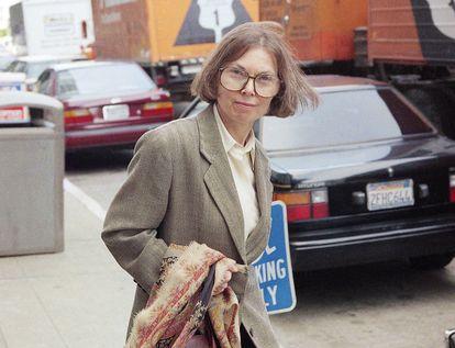 La escritora y periodista Janet Malcolm, en San Francisco en junio de 1993.