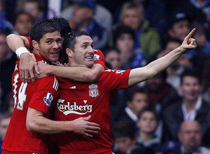 El internacional español marca el gol de la victoria en el Chelsea - Liverpool