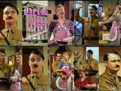 """Hace treinta años se emitió en Inglaterra el único episodio que vio la luz de  Heil Honey, I'm Home , que ha pasado a los anales de la televisión como """"el piloto más controvertido de la historia"""""""