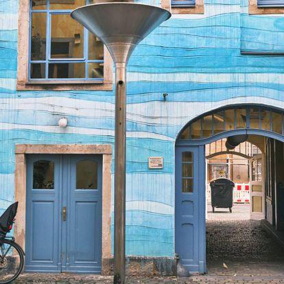El Pasaje del Patio del Arte, en la ciudad alemana de Dresde.