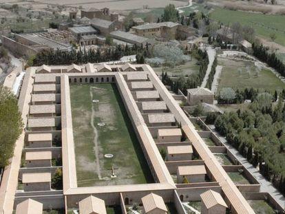 El complejo construido por las monjas de Belén junto al monasterio de Sijena, en una imagen obtenida de la página web de la orden religiosa.