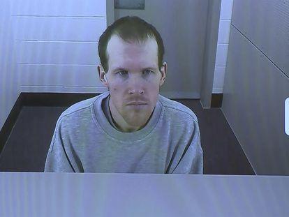 Imagen de la vista judicial en la que Brenton Harrison Tarrant se confiesa culpable de la matanza de Christchurch.