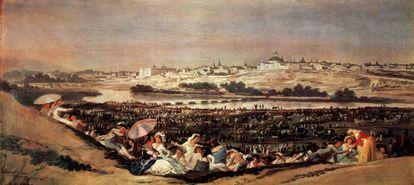 'La pradera de San Isidro', de Goya.