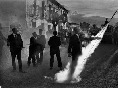 Fotografía del municipio granadino de Guadix, en 1971.
