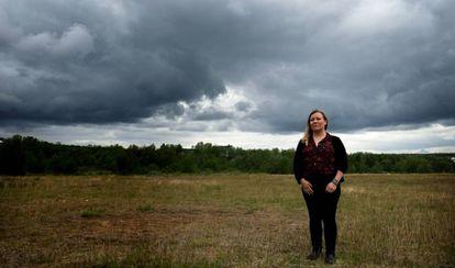 Ellen Inga Turi, una académica sami, en Koutekeino. Inga Turi cree que con más autonomía, el pueblo sami se adaptaría mejor al cambio climático.