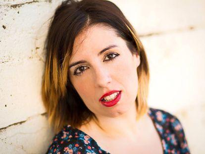 La escritora Carmen G. de la Cueva.
