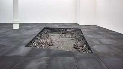 Exposicion de la escultora Cristina Iglesias en Londres.