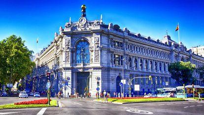 Sede del Banco de España en Madrid.