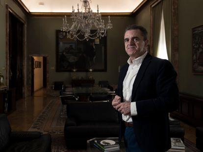 José Manuel Franco, delegado del Gobierno en Madrid, el miércoles.
