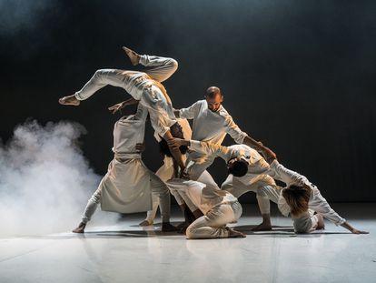 El colectivo de danza urbana Iron Skulls.