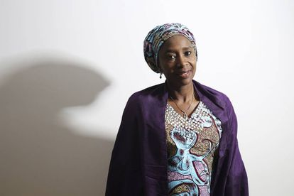 Fatima Shehu Imam, abogada nigeriana de la zona golpeada por Boko Haram, este miércoles en Madrid