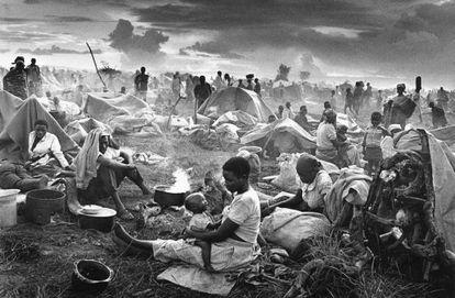 Campo de refugiados ruandeses de Benako. Tanzania (1994).