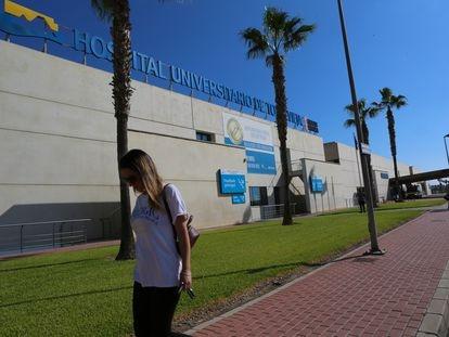 La hospital de Torrevieja.