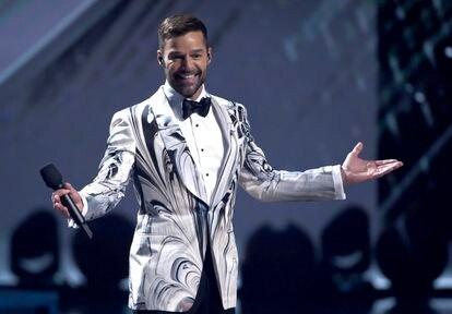 Ricky Martin, en los Latin Grammy Awards celebrados en Las Vegas en 2019.