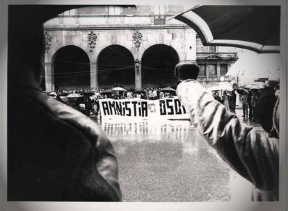 Fotografía recogida en '1980', documental de Iñaki Arteta.