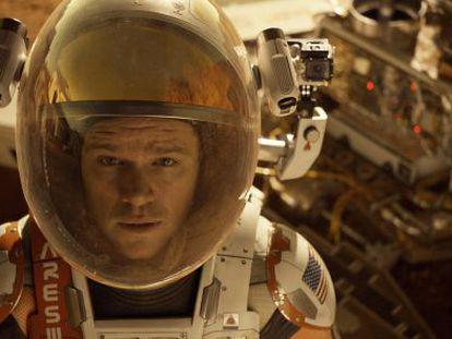Matt Damon en 'Misión rescate'.