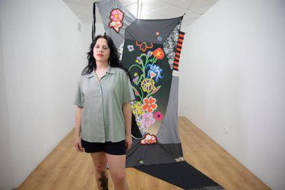 La artista Carolina Lindberg.
