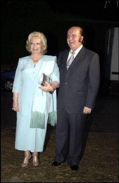 Chiquito de la Calzada y su esposa Pepita, ya fallecida.