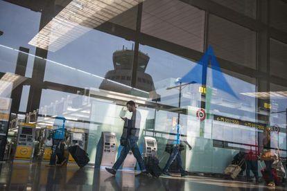 La terminal T1 del aeropuerto de El Prat de Barcelona.