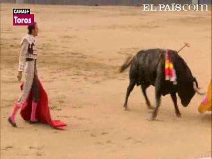 """Ni Uceda ni Abellán ni Pinar estuvieron a la altura de las circunstancias; con pocas ideas y desganados, desaprovecharon las condiciones de la bien presentada corrida de Vellosino.<a href=""""http://www.elpais.com/toros/feria-de-san-isidro/""""><b>Vídeos de la Feria de San Isidro</b></a>"""