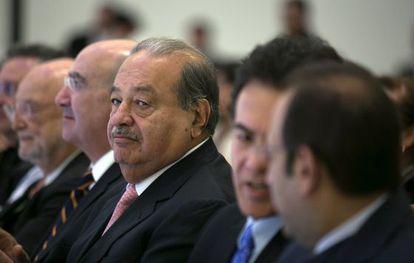 Carlos Slim, dueño de América Móvil, en una imagen de 2013