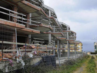 Edificios afectados por las investigaciones judiciales sobre el urbanismo en Barreiros.