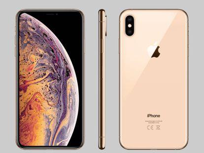 El iPhone XS está disponible con 64 GB, 256 GB o 512 GB de almacenamiento.