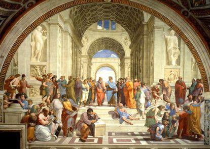 'Escuela de Atenas', de Rafael
