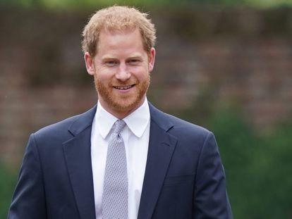 Enrique de Inglaterra, el pasado 1 de julio en Londres, en la conmemoración del 60º cumpleaños de la princesa Diana.