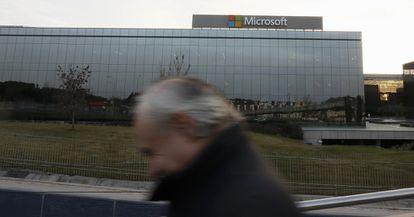 Sede central de Microsoft en España en Pozuelo de Alarcón, Madrid.