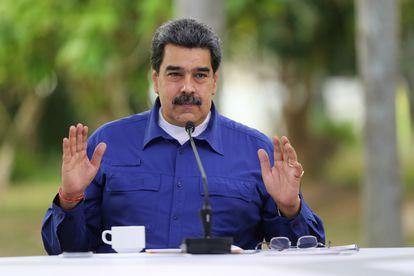 El presidente de Venezuela durante un acto en Caracas, el pasado 21 de abril.