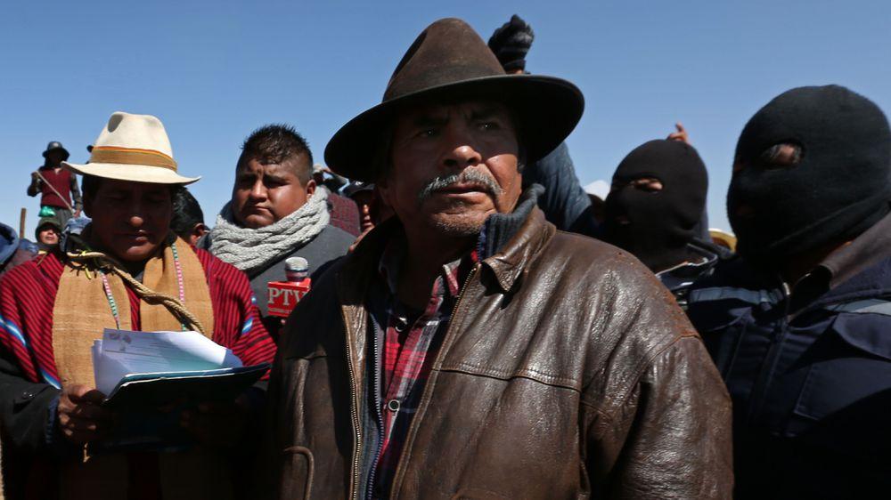Muere 'El Mallku', el último insurrecto de Bolivia